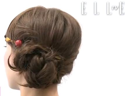 coiffure tresse japonaise