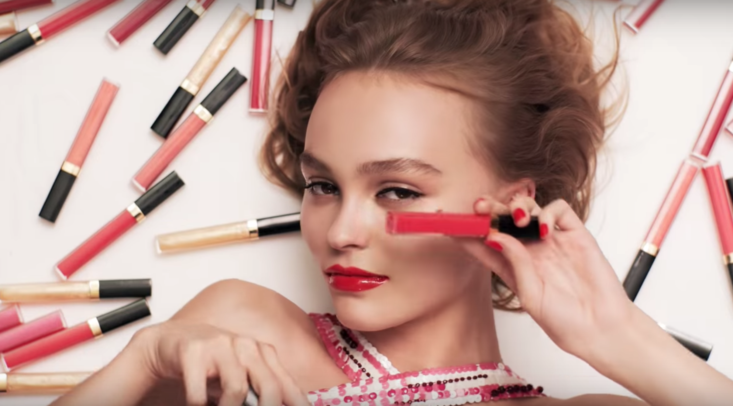 Lily-Rose Depp Chanel