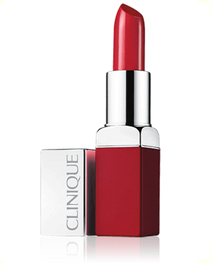 Clinique Pop™ Rouge intense + Base lissante 2 en 1 clinique