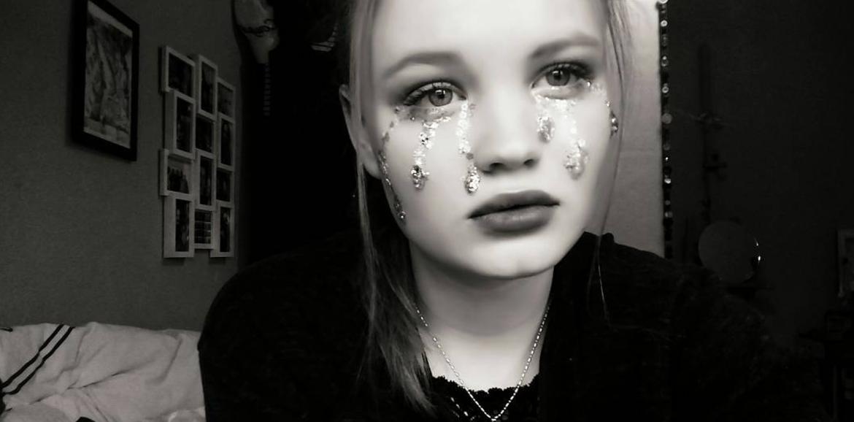glitter tears
