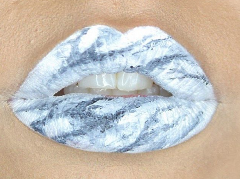 marble lips