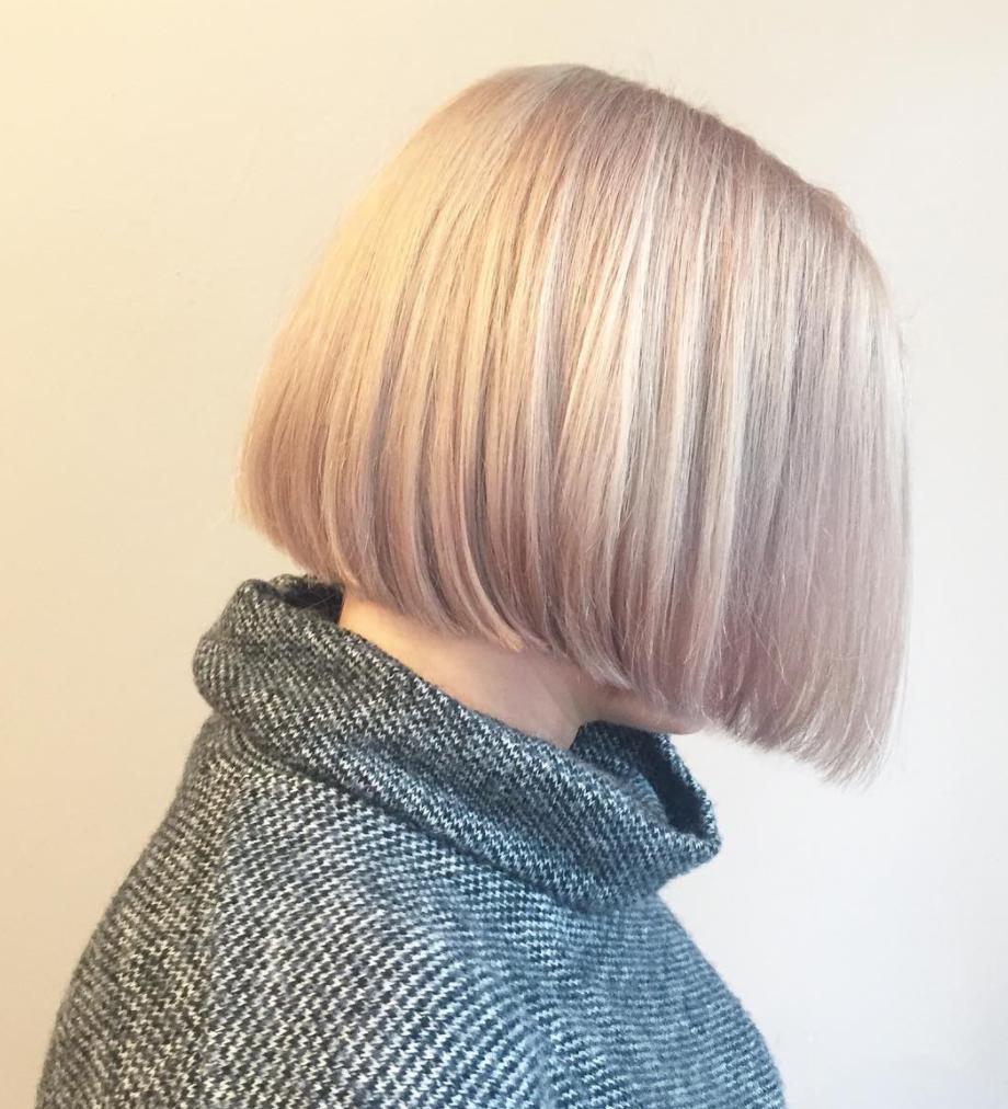 pearlescent hair