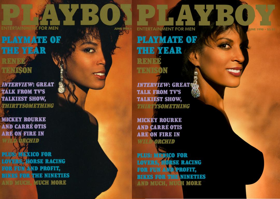 Renée Tenison Playboy